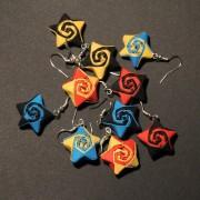 Origami náušnice